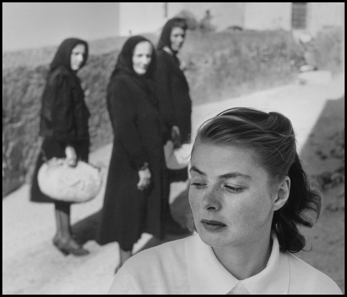 Ingrid Bergman At Stromboli Italy 1949 C Gordon Parks American Gothic