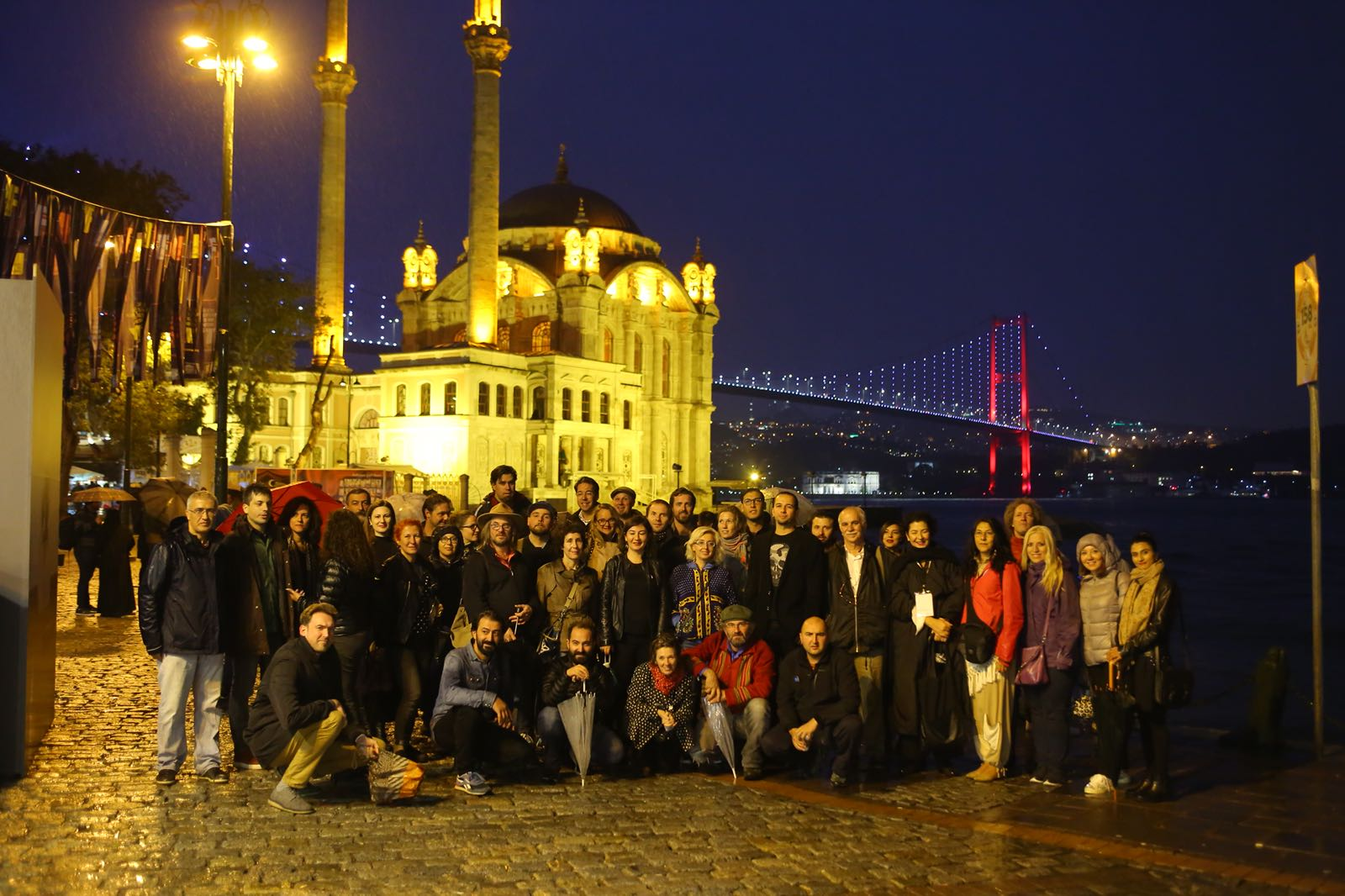 Participating artists and the team of Fotoistanbul © Fotoistanbul