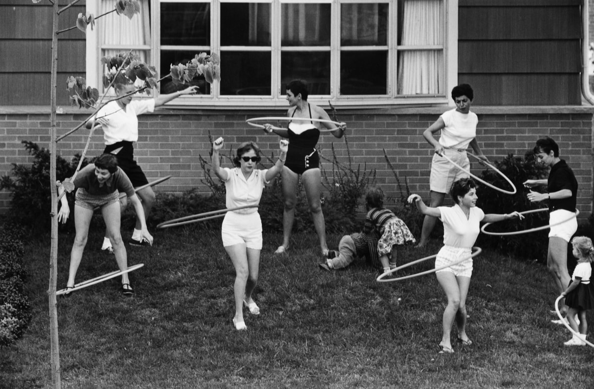 Image result for 1958 Hula Hoop craze