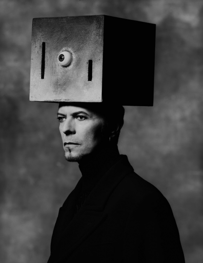 Albert Watson, The Two Faces of Janus David Bowie, New York City, 1996 © Albert Watson