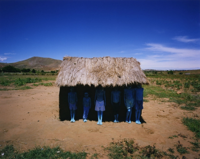 Blue People, Madagascar, 2012 © Scarlett Hooft Graafland