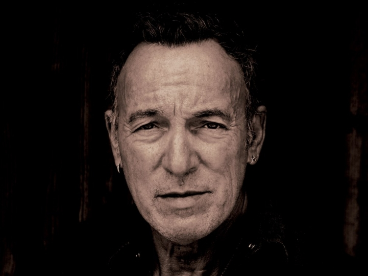 A brand new portrait of Bruce Springsteen, taken by Frank Stefanko exclusively for this book, at Bruce's Colts Neck, NJ, home in April 2017