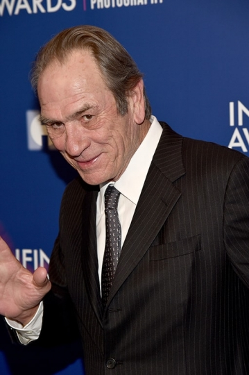 Tommy Lee Jones, 33th ICP Awards, New York, April 25, 2017 © International Center of Photography