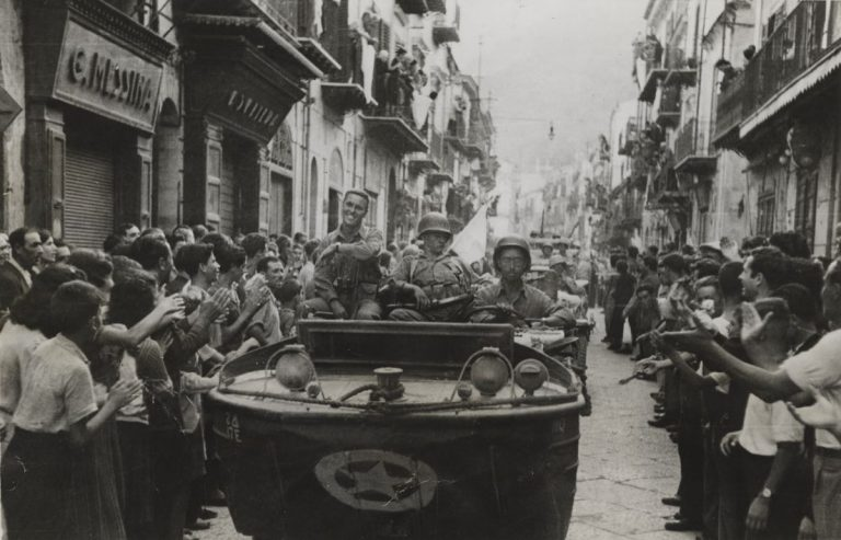 A celebration of the 75th anniversary of the liberation of Europe through Robert Capa's images