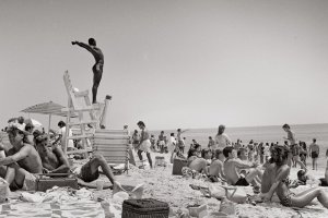 Joseph Szabo's celebration of the lifeguard