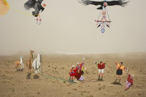 Karen Miranda Rivadeneira's photographs of the mouth of the mountain…