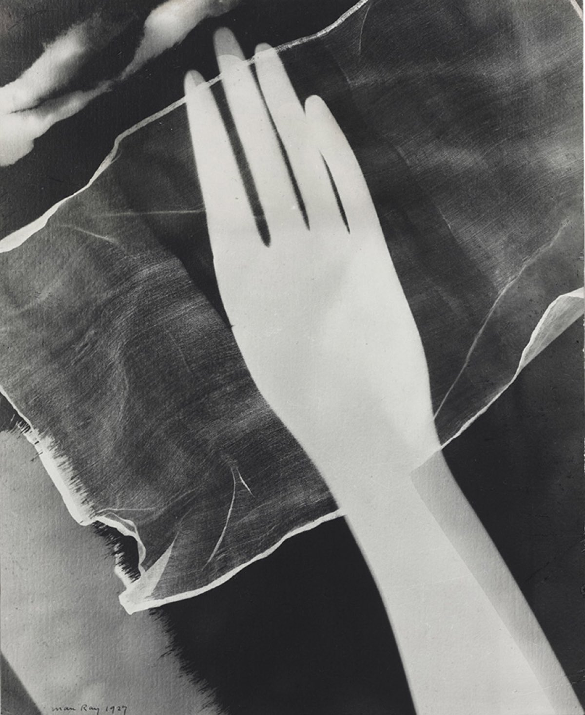 Rayograph of Hand © Man Ray