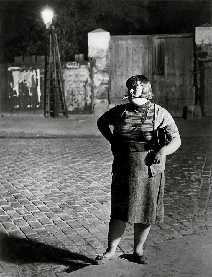 Brassai, Streetwalker, near the Place d_Italie, 1932 © Estate Brassai Succession