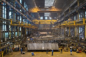 Sylvain Bonniol: The faces of a shipyard