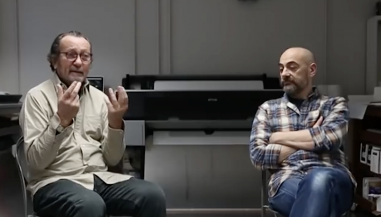 Picto Interview - Paolo Roversi and Christophe Batifoulier