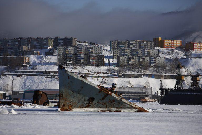 Francesca Piquerias: Russian shipwrecks shaped like reefs