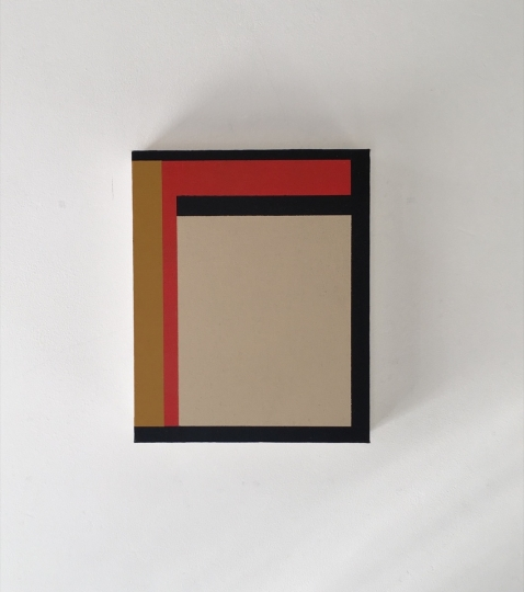Untitled (Perimeter Painting 4), 2003 © Richard Caldicott, courtesy of Atlas Gallery