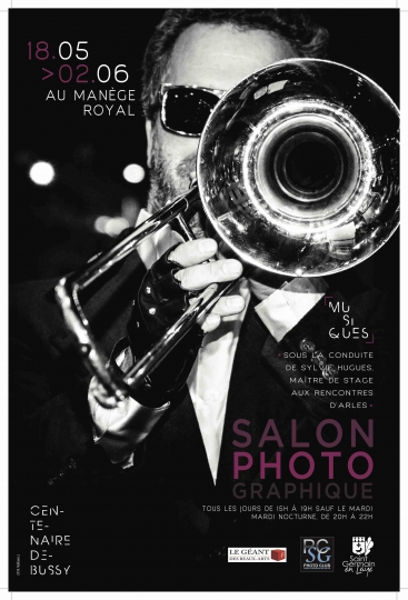 Photo Club Saint-Germain, Affiches, Salons 'Musiques', 2018 © Photo Club Saint-Germain