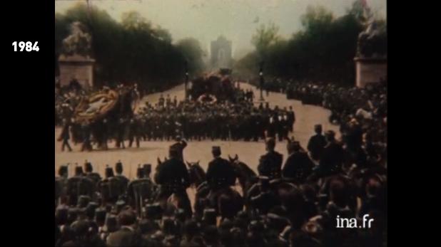 Vidéo – Les obsèques de Victor Hugo en photographie