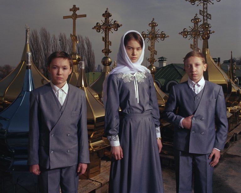 La condition des Ukrainiens déplacés, documentée par Mark Neville