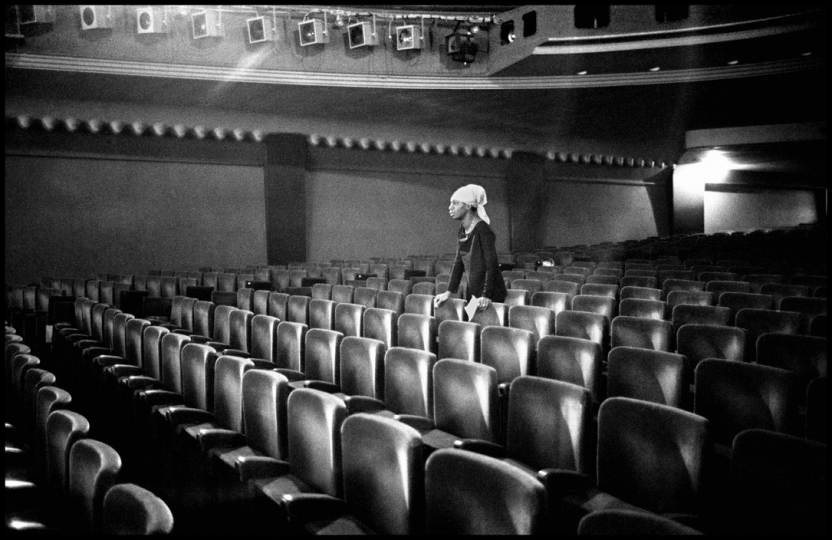 Guy Lequerrec, The American singer Nina Simone, Paris. 9th arrondissement. Olympia Concert Hall. Thursday, March 25th 1969 © Guy Lequerrec