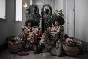 A photographic reimagining of black past and black future with…