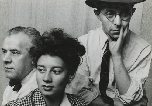 Fiene, Ernst, and Rablul Serge, Tana Bloom, 1942 © Arnold Newman Properties/Getty Images, courtesy Howard Greenberg Gallery, New York