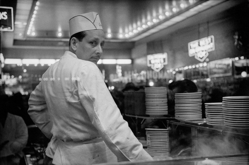 Grant's Counter Man, 1974 © HaroldFeinstein, Courtesy Galerie Thierry Bigaignon