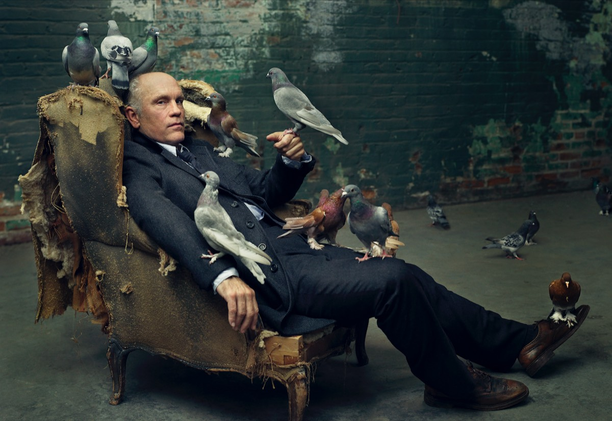 John Malkovich, Los Angeles, CA, 2008 © Mark Seliger