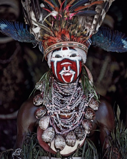 XV 77 - Kui East Wigman - Mount Hagen, Western Highlands -Papua New Guinea, 2010 © Jimmy Nelson