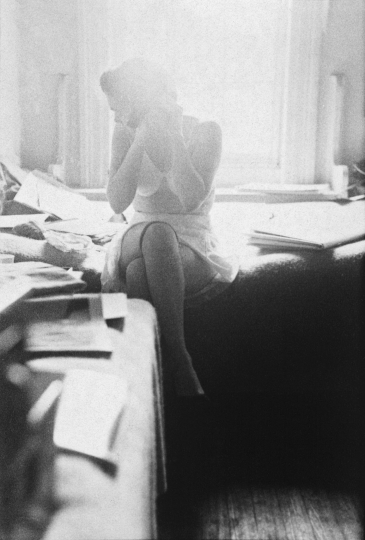 In my room © Saul Leiter