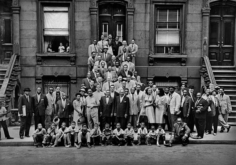 A Great Day In Harlem © Art Kane 1958