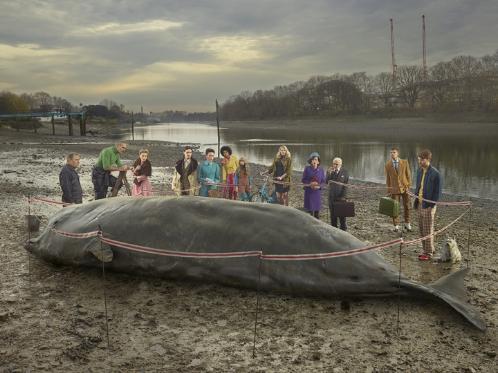 The Thames Whale © Julia Fullerton-Batten