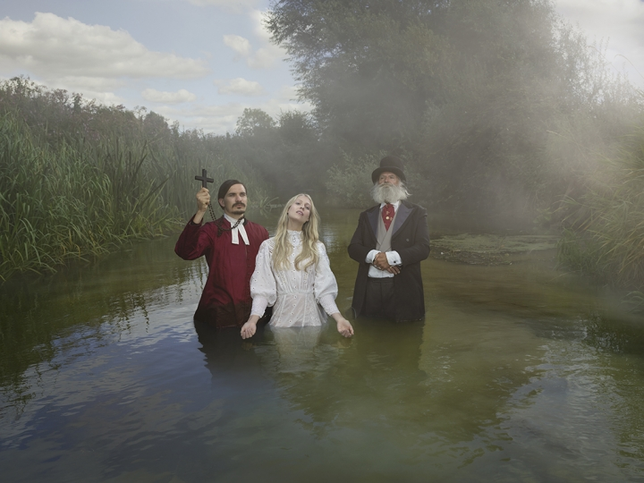 Baptism along the Thames © Julia Fullerton-Batten