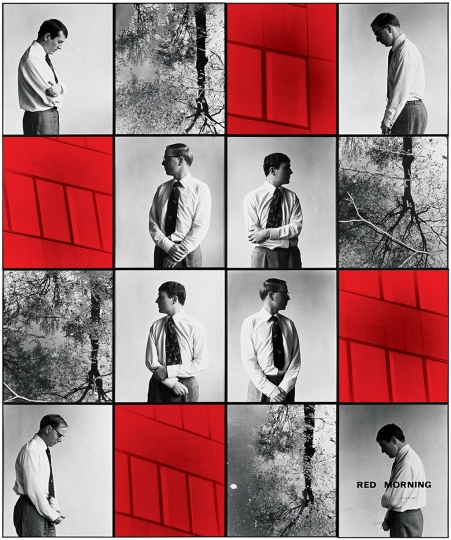 Gilbert & George, RED MORNING DEATH, 1977 Avec l'aimable autorisation de Gilbert & George