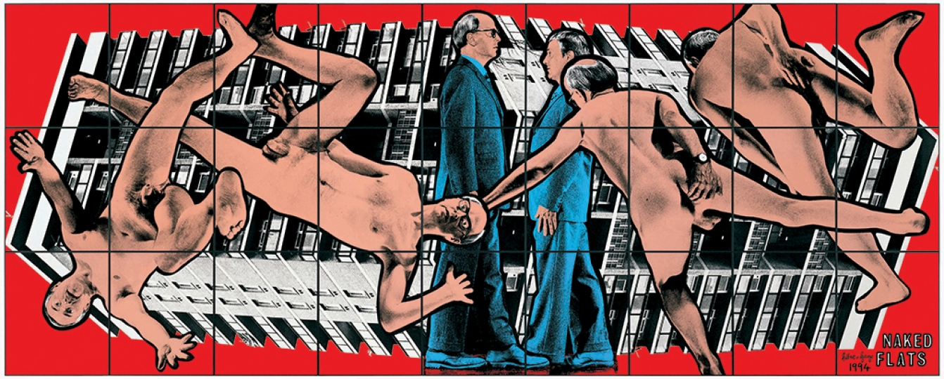 Gilbert & George, NAKED FLATS, 1994 Avec l'aimable autorisation de Gilbert & George