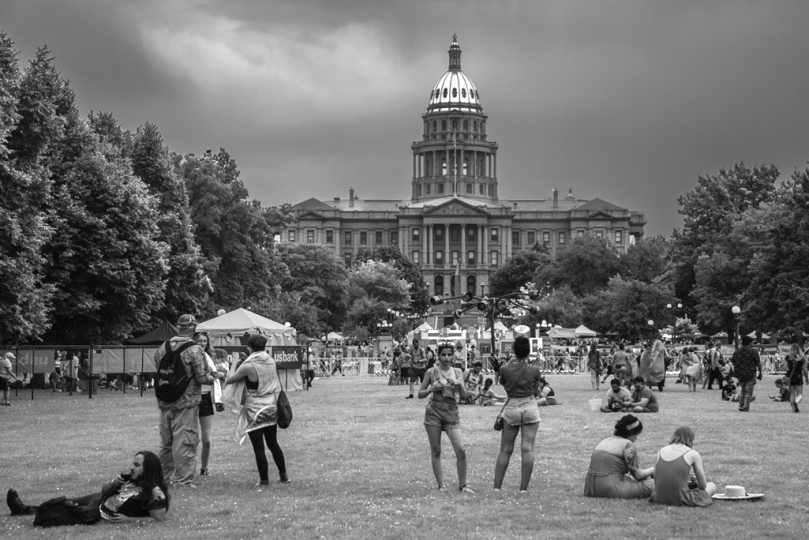 'Denver PRIDE' - Capital Building © Daniel Levine