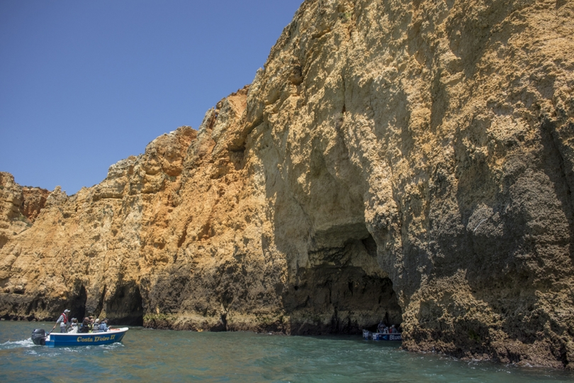 May 3, 2018, Lagos, Portugal: The cliffs beaches, and grottos of the Lagos coast are spectacular. © ALLAN TANNENBAUM