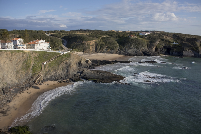 May 2, 2018, Costa Vicentina, Portugal: The southwest Atlantic coast of Portugal has many beautiful beaches and other natural wonders. Zambujeira do Mar. © ALLAN TANNENBAUM