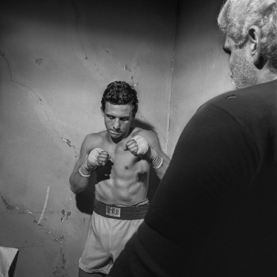 The Boxing Portfolio, 1989 to 1996 © Larry Fink