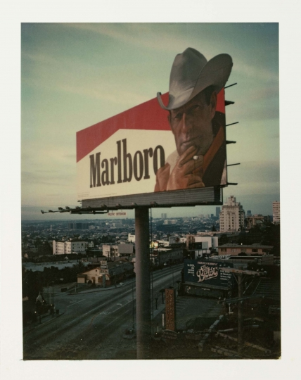 Dead man smoking L.A 1977 © Wim Wenders. Courtesy Wim Wenders Foundation