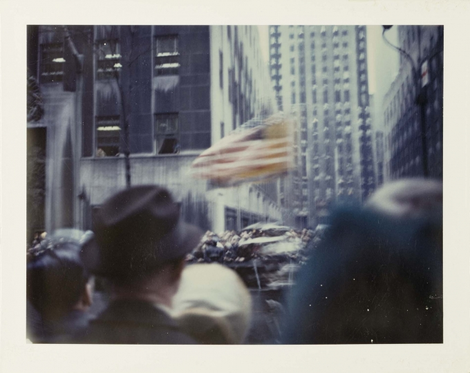 New York Parade 1972 © Wim Wenders. Courtesy Wim Wenders Foundation