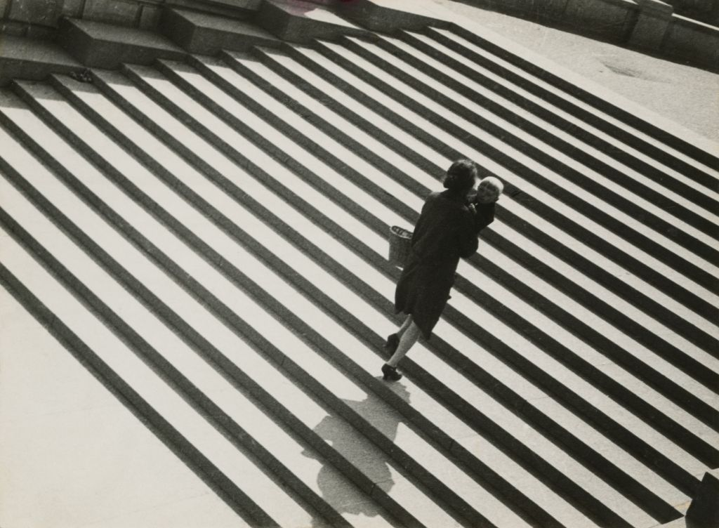 Stairs, 1930 ©Alexander Rodchenko, Modern silver gelatin print from the artist's negative, Collection of the Multimedia Art Museum, Moscow