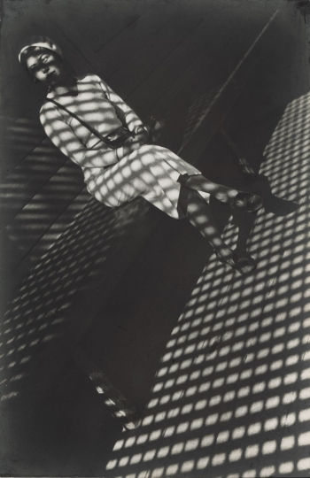 Girl with a Leica, 1934 ©Alexander Rodchenko, Modern silver gelatin print from the artist's negative, Collection of the Multimedia Art Museum, Moscow