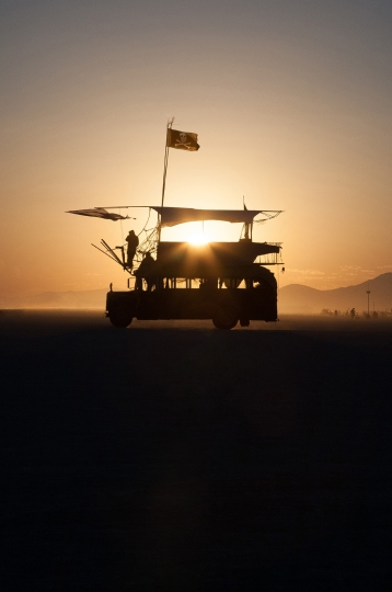 Pirates on the playa, 2006 © Philip Volkers