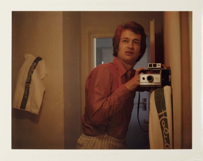 Selfportrait 1975 © Wim Wenders. Courtesy Wim Wenders Foundation