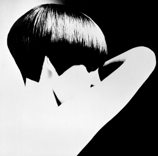 David Montgomery, Grace Coddington, Vidal Sassoon Five Point Cut, 1966. © David Montgomery. Courtesy Peter Fetterman Gallery, Santa Monica