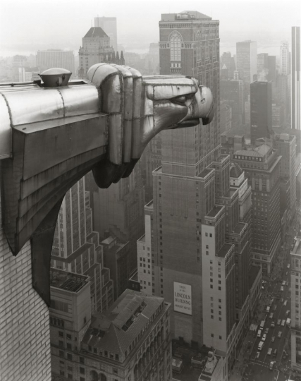 From the Chrysler Building, New York, 1978 © George Tice
