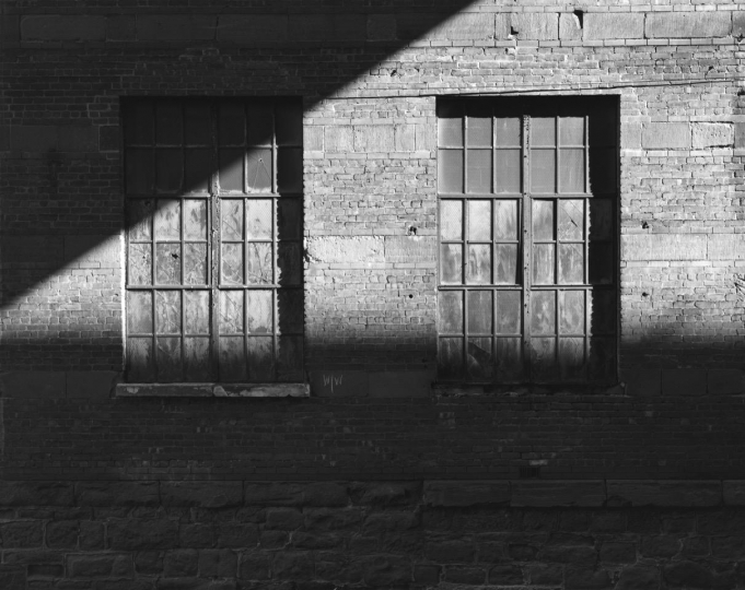 Factory Windows, Paterson, New Jersey, 2002 © George Tice