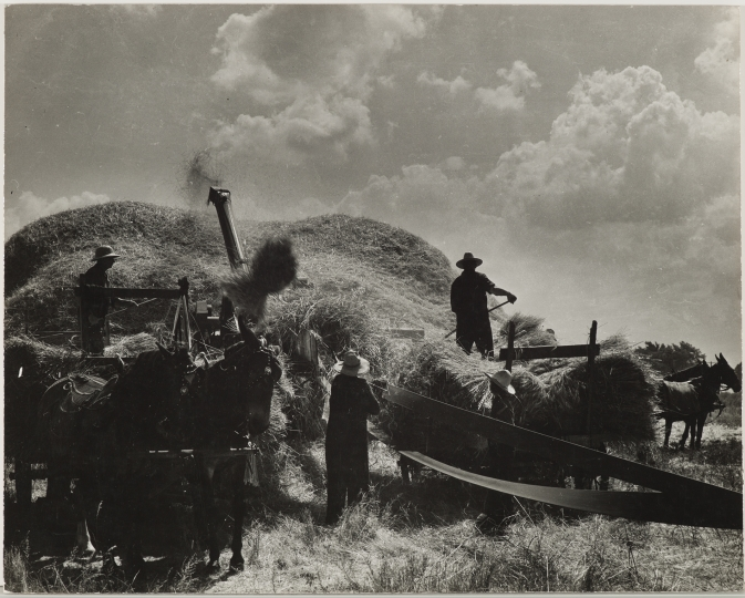 Sid Grossman. Oklahoma, 1940. Gelatin silver print mounted on board. 10 3/4 x 12 inches. Collection Pérez Art Museum Miami, gift of Charles S. and Elynne B. Zucker. © Estate of Sid Grossman/Courtesy of Howard Greenberg Gallery, NY.
