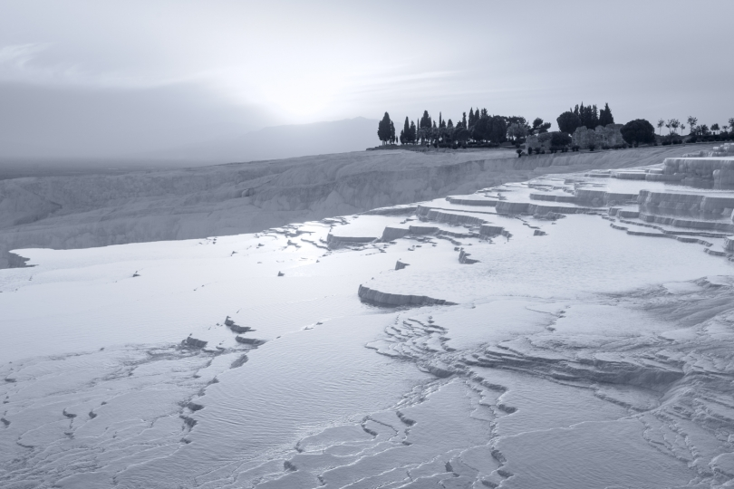 Step by Step, Pamukkale, Turkey © Tom Jacobi