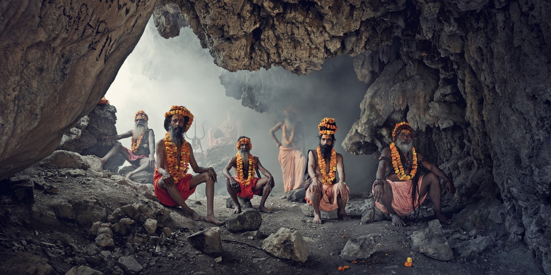 Cave, Sadhus, Haridwar, India, 2016. © Jimmy Nelson Pictures BV.
