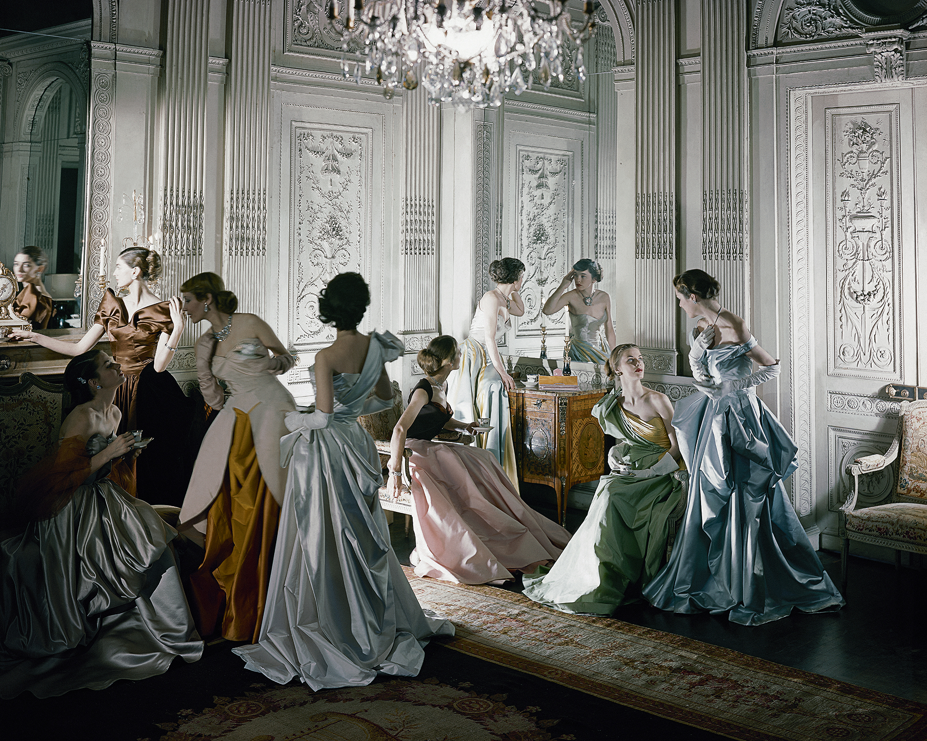 Cecil Beaton - FRENCH MODELS IN 1948 – Courtesy YellowKorner