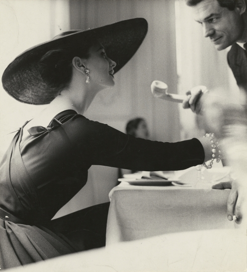 Lillian Bassman American, 1917–2012 The V Back Evenings, Suzy Parker, Dress by Trigère, New York, 1955 Gelatin silver print 24.1 x 21.7 cm (9 1/2 x 8 9/16 in.) The J. Paul Getty Museum, Los Angeles © The Estate of Lillian Bassman