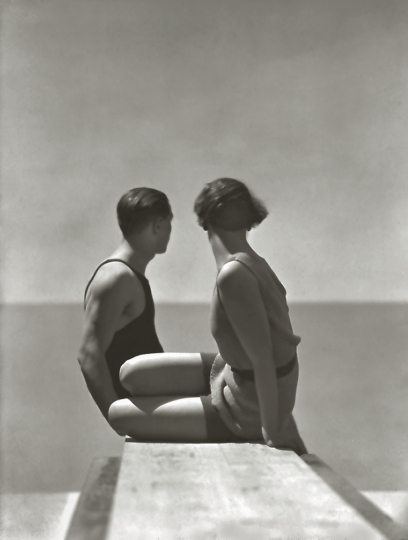 George Hoyningen-Huene American, born Russia, 1900–1968 Bathing Suits by Izod, Paris, 1930 Gelatin silver print 43.2 x 33 cm (17 x 13 in.) Courtesy of Richard and Allison Roeder © Horst